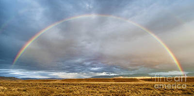 Photograph - Jackson Hole Rainbow by Sandra Bronstein
