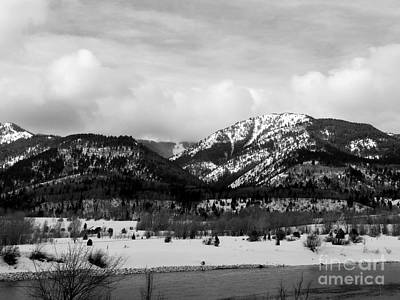 Photograph - Jackson Hole Winter by David Bearden