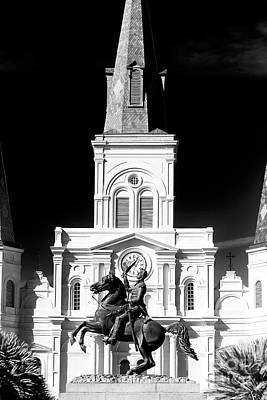 Photograph - Jackson In Jackson Square by John Rizzuto