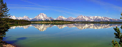 Photograph - Jackson Lake Alpine Reflections by Greg Norrell