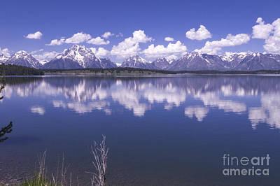 Photograph - Jackson Lake - Grand Tetons by Louise Magno