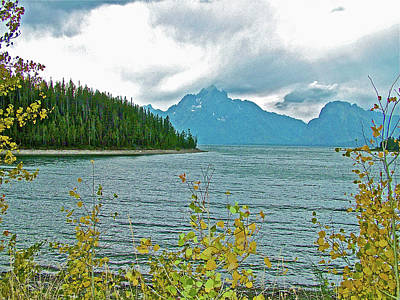 Photograph - Jackson Lake In Grand Tetons National Park-wyoming by Ruth Hager