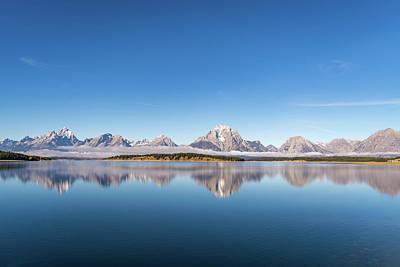 Art Print featuring the photograph Jackson Lake by Mary Hone