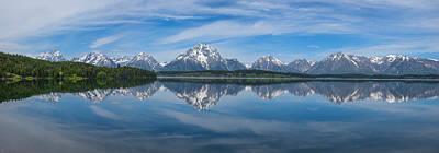 Royalty-Free and Rights-Managed Images - Jackson Lake Panorama by Darren White