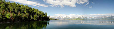 Photograph - Jackson Lake Panoramic by Crystal Wightman