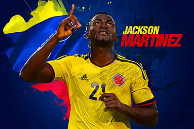 Champion Digital Art - Jackson Martinez by Semih Yurdabak