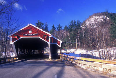 Photograph - Jackson Nh Covered Bridge by John Burk