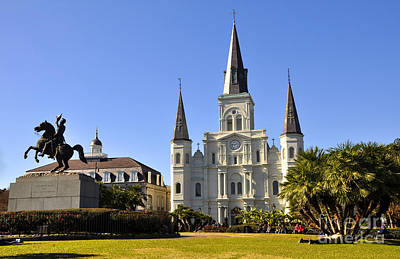Photograph - Jackson Square by Andrew Dinh