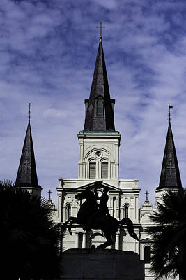 Digital Art - Jackson Square - Color by Printed Pixels