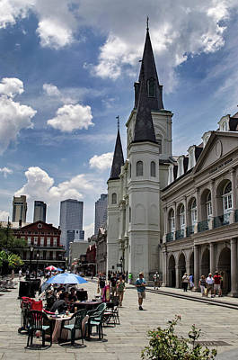 Photograph - Jackson Square by Greg Mimbs