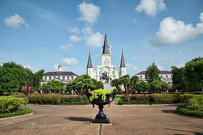 Photograph - Jackson Square by Kathy Williams-Walkup