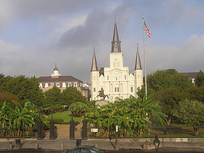 Jackson Square Morning Art Print by Jack Herrington