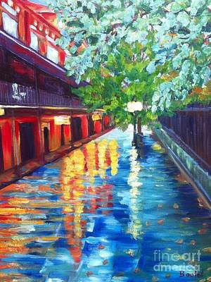Painting - Jackson Square Reflections by Beverly Boulet