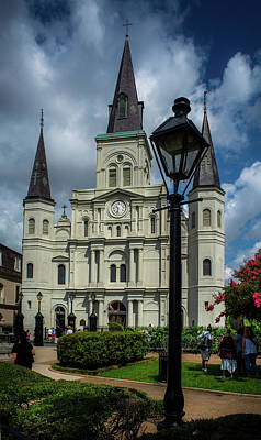 Dramatic Photograph - Jackson Square Shade by Greg Mimbs