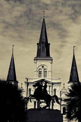 Digital Art - Jackson Square - Split Tone by Chris Coffee