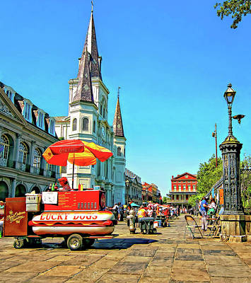 Hot Dogs Photograph - Jackson Square by Steve Harrington