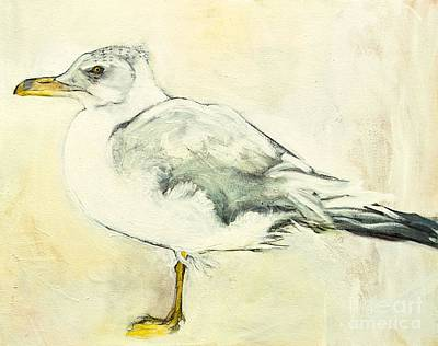 Painting - Jackson The Seagull by Carolyn Weltman