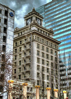 Photograph - Jackson Tower Portland Oregon by Thom Zehrfeld