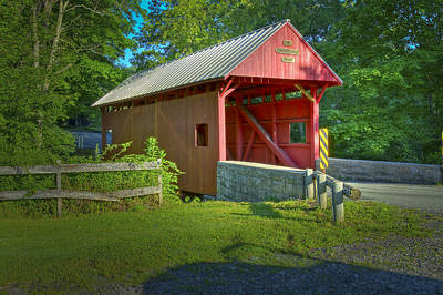 Photograph - Jackson's Mill Covered Bridge by Jack R Perry