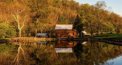 Photograph - Jackson's Mill - West Virginia by L O C