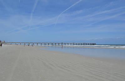 Photograph - Jacksonville Beach Florida Pier by rd Erickson