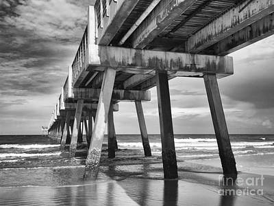 Jacksonville Beach Florida Usa Pier Art Print
