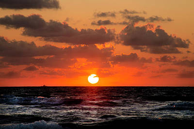 Photograph - Jacksonville Beach Sunrise 2 by David Cabana