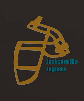 Jaguar Art Photograph - Jacksonville Jaguars Retro by Joe Hamilton