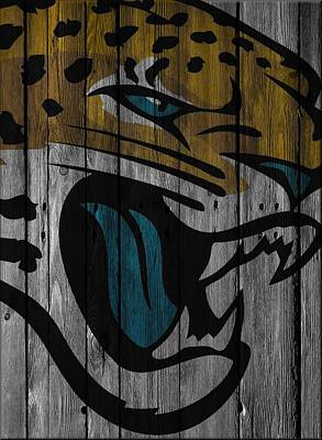 Photograph - Jacksonville Jaguars Wood Fence by Joe Hamilton