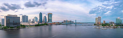 Photograph - Jacksonville Panorama by Ryan Heffron