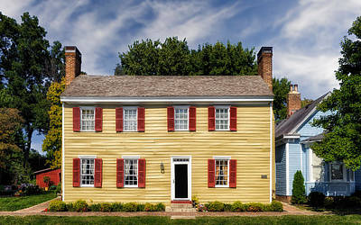 Photograph - Jacob Rizer House - Bardstown - 1812 - 1 by Frank J Benz