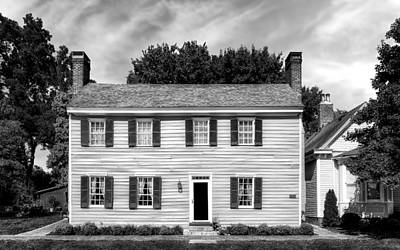 Photograph - Jacob Rizer House - Bardstown - 1812 - 2 by Frank J Benz