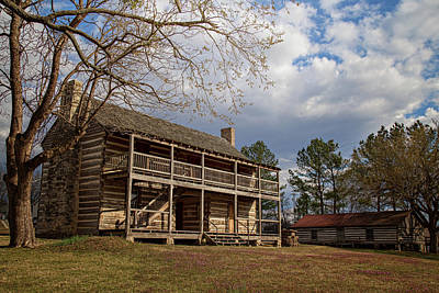 Photograph - Jacob Wolf House by Lana Trussell