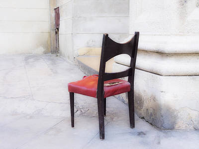 Old Street Mixed Media - Jacob's Chair by Artecco Fine Art Photography