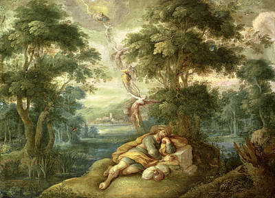 Ladder Painting - Jacobs Dream by Frans Francken