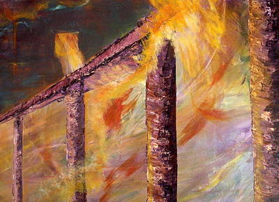 Painting - Jacob's Ladder by Trish Campbell