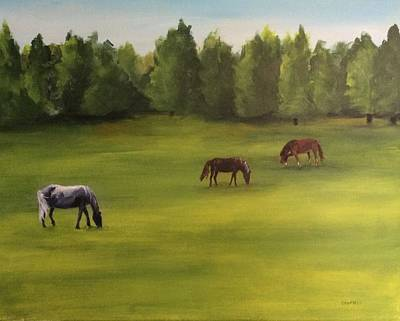 Painting - Jacob's Pasture by Ellen Canfield