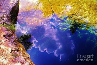 Jacob's Well, Near Austin, Texas Original by Chuck Taylor