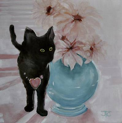 Painting - Jacobs's Cat by Julie Todd-Cundiff