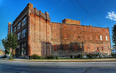 Farmhouse Rights Managed Images - Jacoby Art Center Alton Illinois  Royalty-Free Image by Buck Buchanan