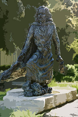 Mississippi River Digital Art - Jacques Marquette Sculpture by Art Spectrum