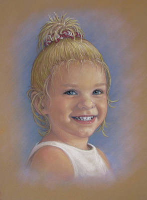 Toddler Portrait Painting - Jada by Tanja Ware