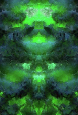 Digital Art - Jade 1 by Debora Nash