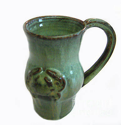 Jade Crab Mug Original by Vernon Nix