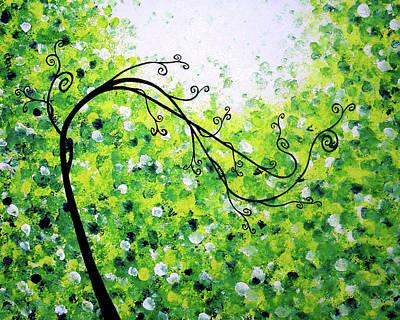Jade Morning Art Print by Daniel Lafferty