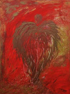 Visionary Painting - Jaded Angel by Marianna Mills