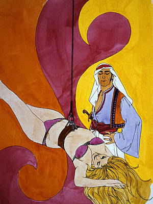 Kenyon Painting - Jaded Traders by Dennis Naumick