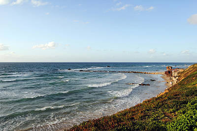 Photograph - Jaffa Beach 8 by Isam Awad