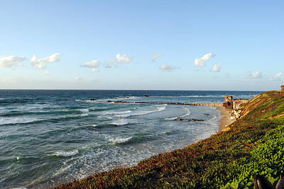 Photograph - Jaffa Beach 3 by Isam Awad