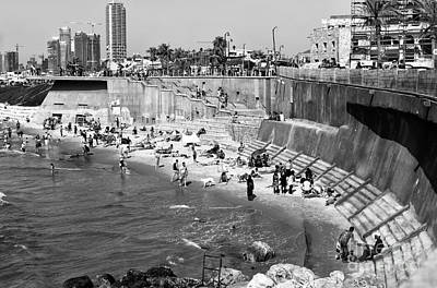 Photograph - Jaffa Beach Curves by John Rizzuto